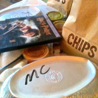 Chipotle, Harry Potter, and quality PIC time after a morning of yard work. Such a good way to enjoy the day. 9.13.15