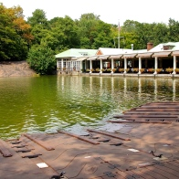 Getting to see famous spots of NYC such as the boat house in Central Park. 8.30.15