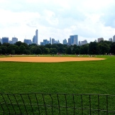 The big field of Central Park. 8.30.15