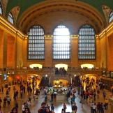 watching the hustle & bustle of NYC in Grand Central 8.31.15