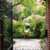 Secret Gardens in the middle of the big city (NYC) 9.1.15