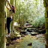 Climbing and exploring 9.15