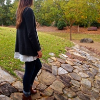 Exploring Clemson with the sister. 11.15