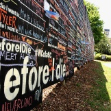 Before I die wall. Great reminders to seize each day. (8.9.15)