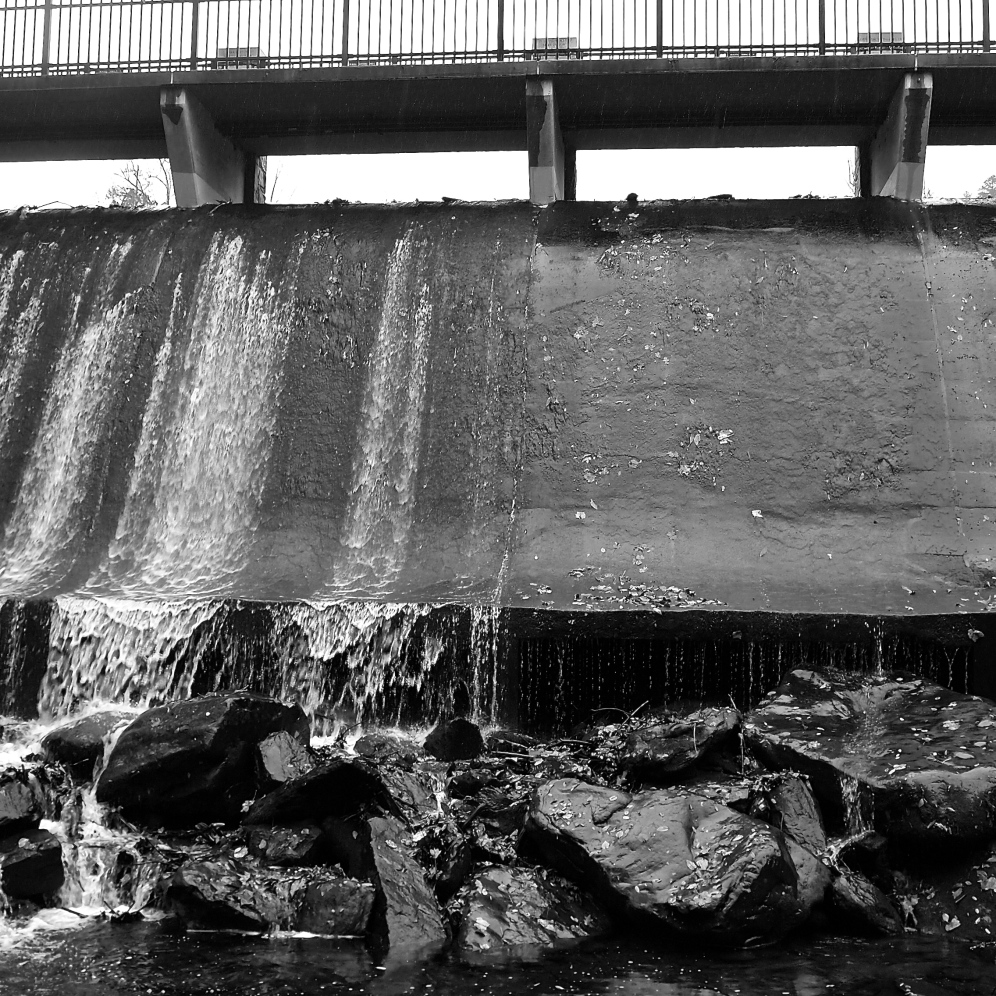 Dam at Lake Susan in Montreat
