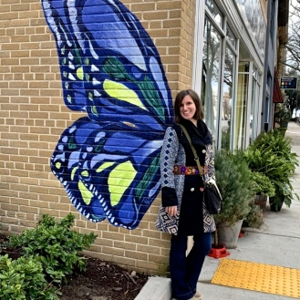 Hotel Trundle Butterfly (1224 Taylor Street) by Megan Carn