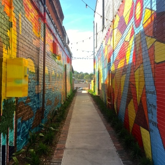 Alley on State (122 State Street) by Christine Lutfy