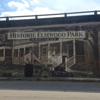 Historic Elmwood Park Mural (705 Elmwood Avenue)