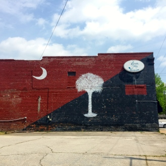 Palmetto Mural (731 Elmwood Avenue)