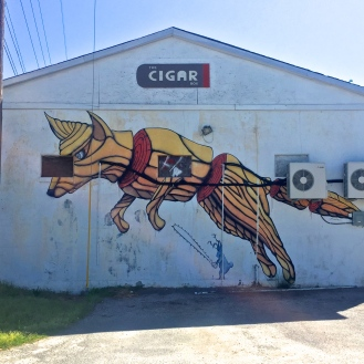 Fox Mural (2764 Rosewood Drive) by Clay Wooten