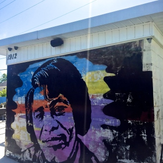 James Brown Mural (1912 Rosewood Drive) by Tripp Derrick Barnes