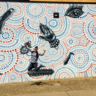 Milagros Mural (1100 Taylor Street) by MILAGROS Collective