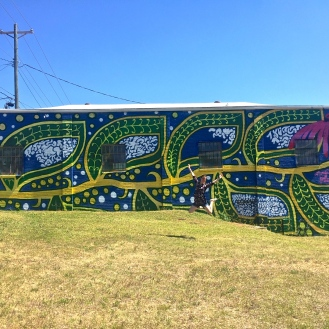 Grow Mural (4005 Monticello Road) by Charmaine Minniefield