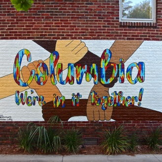 Columbia We're In It Together Mural (2615 Devine Street) by Christine Lutfy